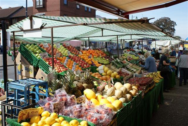 A scene from the market