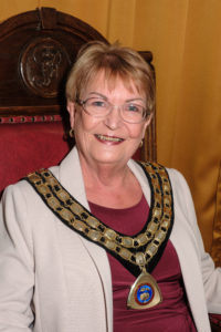Photo of Watton Town Mayor Councillor Pat Warwick 2019/2020